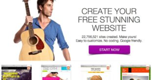 Create Website Using WIX